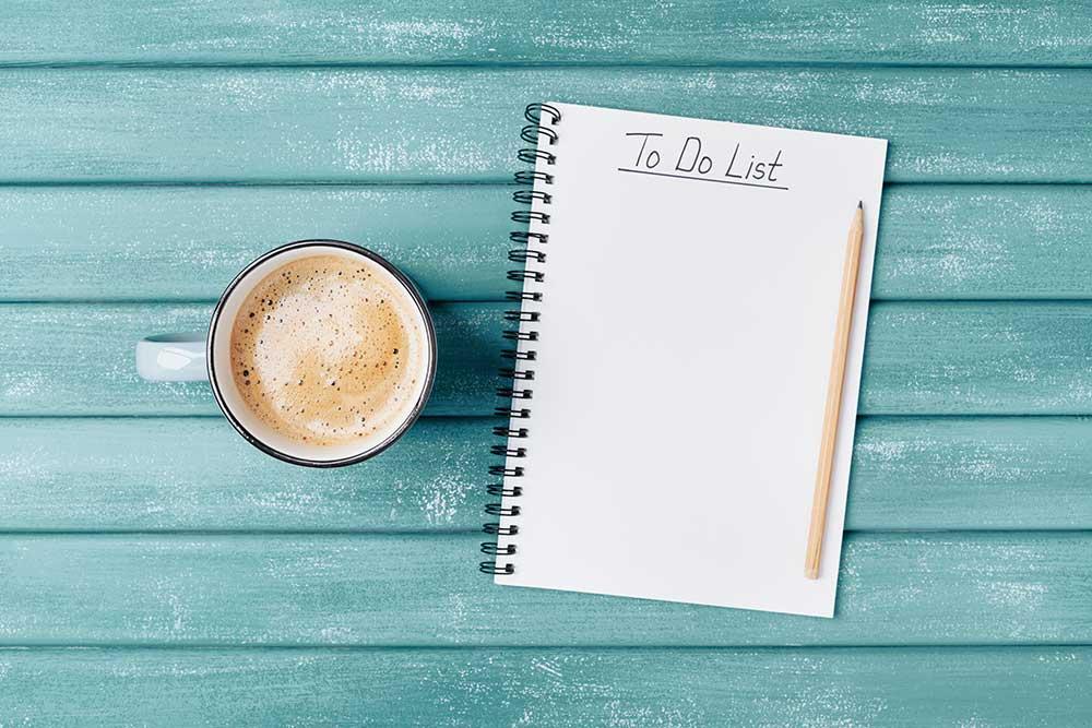 Checkliste - Todo-Liste